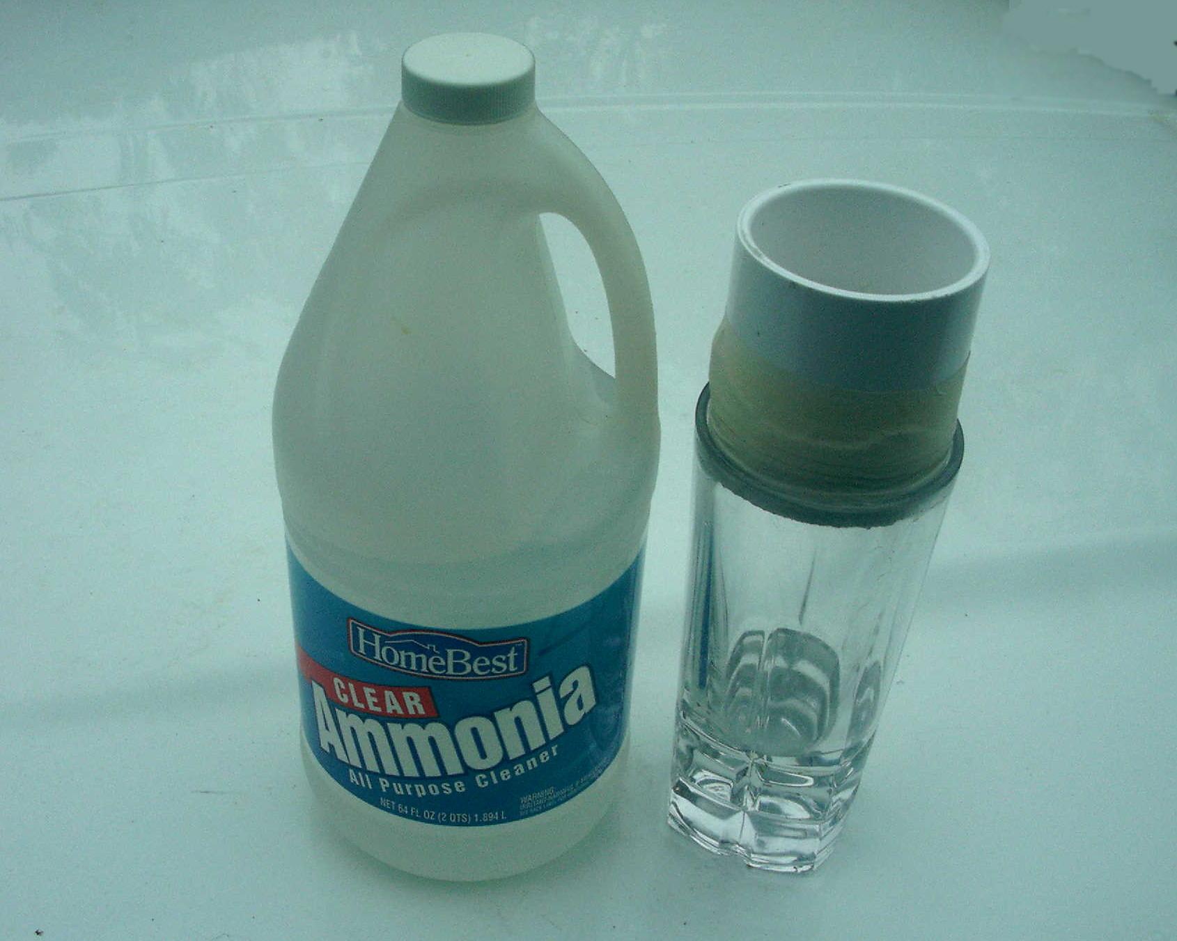 household ammonia. Black Bedroom Furniture Sets. Home Design Ideas